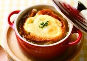 あったか~いオニオングラタンスープの美味しいレシピをご紹介♪のサムネイル画像