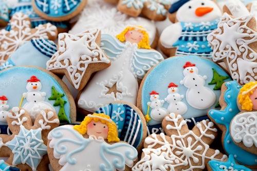 クリスマスに作りたい☆可愛いいお菓子と世界のクリスマお菓子☆のサムネイル画像