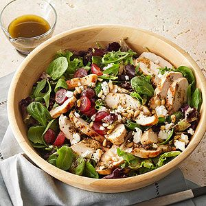 栄養バランス抜群!!美味しく食べて綺麗になれるチキンサラダレシピ♪のサムネイル画像