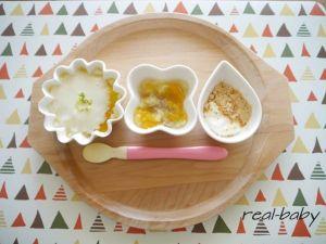 生後7~8カ月の赤ちゃん♡もぐもぐ期♡離乳食中期レシピ集♡のサムネイル画像