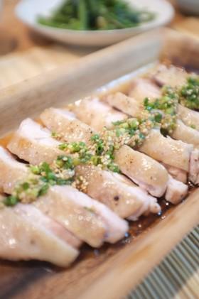 お手軽♪しっとり柔らか蒸し鶏と相性抜群のたれのレシピ集☆のサムネイル画像