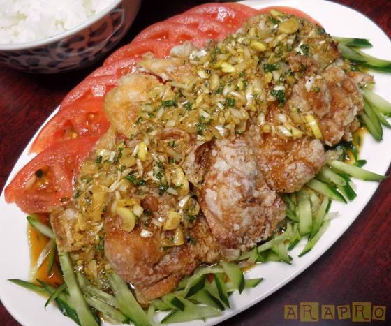 今夜はおいしい油淋鶏を作ろう!いろいろな油淋鶏のタレをご紹介!のサムネイル画像