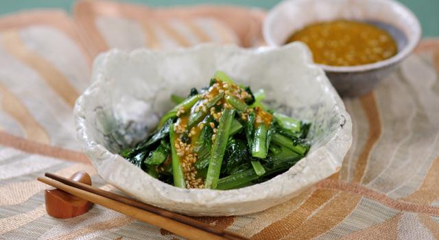 小松菜を毎日でも楽しみたい時に♪おすすめ小松菜レシピ6選♪のサムネイル画像