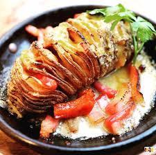 じゃがいもオーブン焼き♪と言えばハッセルバックポテト!!のサムネイル画像