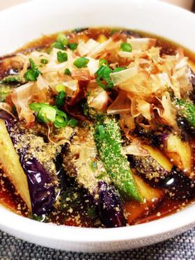美味しい夏野菜揚げ!揚げ茄子をお家で楽しむ簡単レシピまとめ!のサムネイル画像