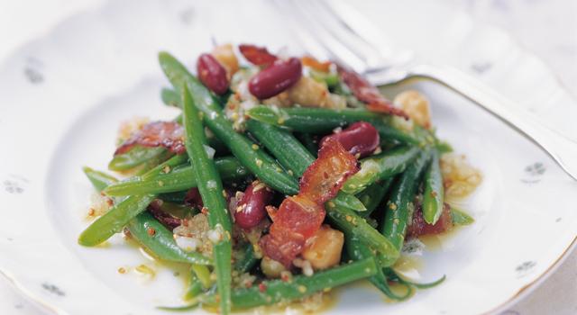 忙しい時こそ「三度豆」(さやいんげん)!おすすめレシピ5選のサムネイル画像