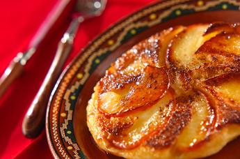 ホットケーキミックスを使うから簡単!りんごケーキのレシピをご紹介のサムネイル画像