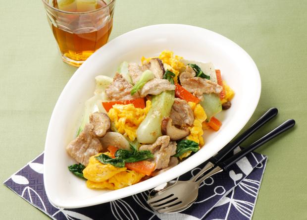 中華料理の定番野菜「青梗菜」!青梗菜と豚肉の人気レシピ特集!のサムネイル画像
