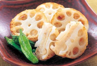 シャキシャキ食感がたまらない!れんこんのはさみ焼きレシピ5選のサムネイル画像