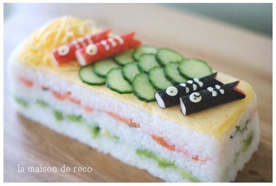 専用の型でも☆専用の型じゃなくても☆作れる!押し寿司レシピのサムネイル画像