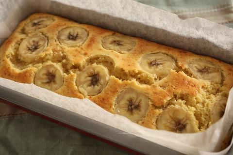 優しい甘さ♪バナナのパウンドケーキのおすすめレシピと作り方♪のサムネイル画像