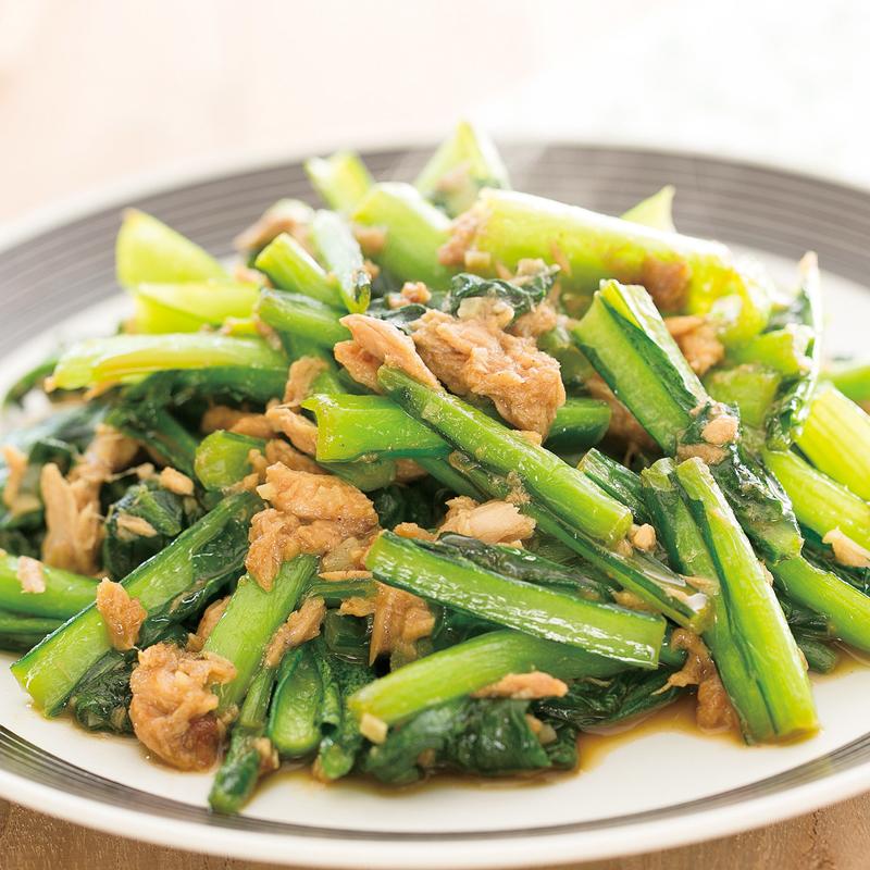 「小松菜」と「ツナ」で美味しく料理しましょう♪レシピをご紹介!のサムネイル画像