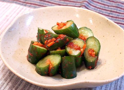 健康にも効果大!きゅうりを使った美味しいキムチのレシピを紹介!のサムネイル画像