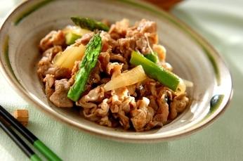 疲労回復効果大‼︎豚肉とアスパラを使った料理レシピ集☆5選☆のサムネイル画像