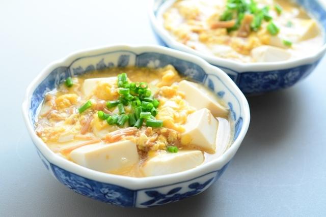 おいしさギュッと閉じ込めて♪豆腐の卵とじ♪優しい美味しさレシピ集のサムネイル画像