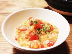 元気な時にも食べたい☆栄養満点♪卵が入ったおかゆレシピ集のサムネイル画像