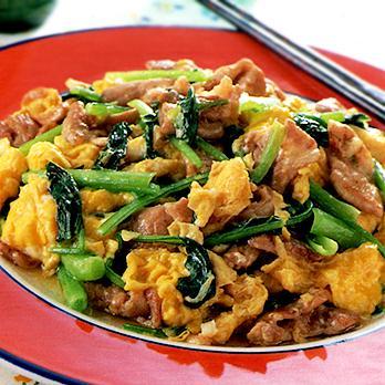 栄養バランスのトリプルスリー!小松菜&豚肉&卵レシピ集です。のサムネイル画像