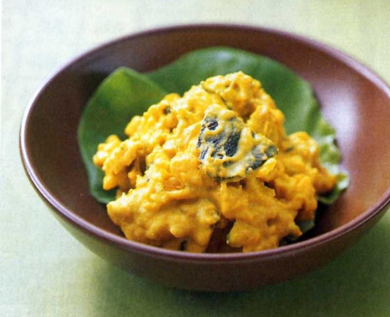 栄養満点の緑黄色野菜の代表格!かぼちゃサラダの人気レシピ5選のサムネイル画像