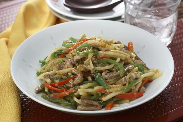 色々材料でチンジャオロース!野菜をたっぷりとれるレシピ!のサムネイル画像