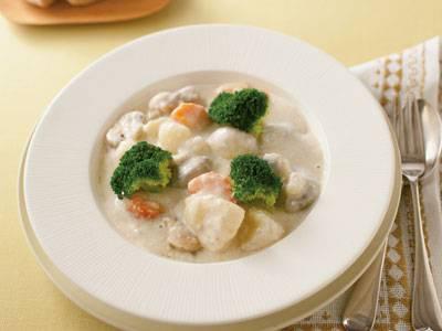 寒い冬に食べたい!体ポカポカ、ホワイトシチューの絶品レシピ集のサムネイル画像