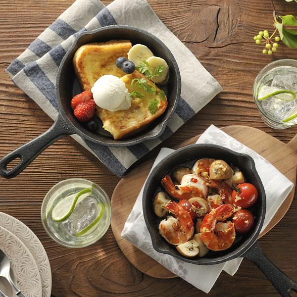 スキレット鍋をつかった簡単おしゃれなおいしい料理をまとめましたのサムネイル画像