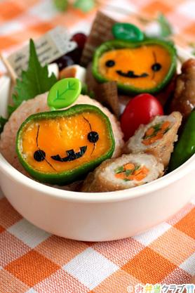 ハロウィンに絶対作りたい!超簡単人気のお弁当レシピ5選!のサムネイル画像