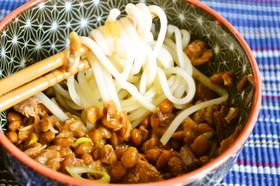 うどんと納豆の鉄板コンビ!簡単に作れて栄養満点なレシピ5選!のサムネイル画像