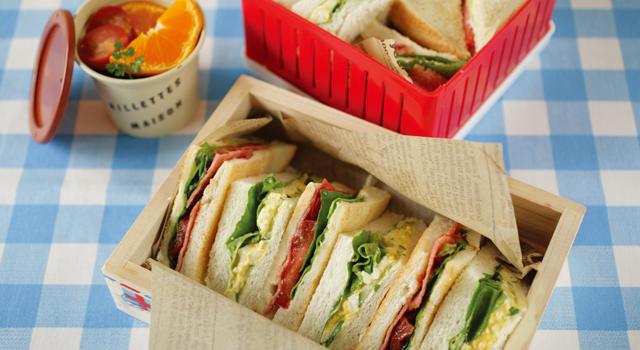 レパートリーがマンネリ化してない?絶品サンドイッチの作り方!のサムネイル画像